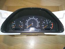 MERCEDES E CLASS W210 INSTRUMENT CLUSTER 140 MPH / 220 Km/h ENGLISH A 2105401548