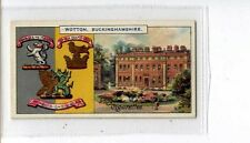 (Jt555-100)Players,Country Seats & Arms 3rd,Wotton Buckinghamshire , 1910#123