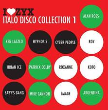 I Love ZYX Italo Disco Collection 1 CD
