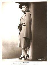 "CLAUDIA DELL ""Algiers"" Original Vintage PORTRAIT 1938"