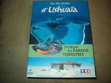 """COFFRET 3 DVD """"SUR LES ROUTES D'USHUAIA - PROTEGER LES PARADIS TERRESTRES"""""""