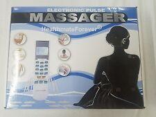 Healthmateforever Portable Pain Relief TENS EMS unit 4 output YK15AB white 7000