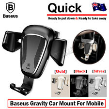Universal Car Air Vent Mount Phone Gravity Holder For iPhone GPS Samsung S9 Plus