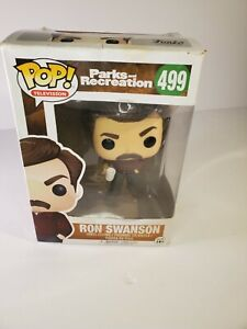 Funko Pop! Television: Parks and Recreation - Ron Swanson Vinyl Figure