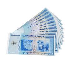 10x Rhinoceros Zimbabwe 100 Quintillion Dollars Color Banknotes Non-Currency