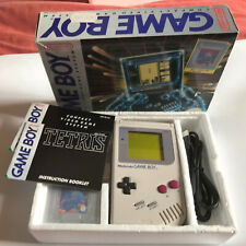 Tested and Working Boxed Grey Nintendo Gameboy DMG-01 1989 Tetris Edition / #2