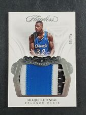 2017-18 Panini Flawless Shaquille O'Neal Jersey Patch 9/25! 🔥MF
