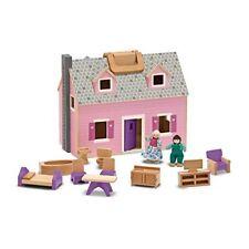 Maison de poupées-Fold and Go Avec 4 poupées de bois et par Melissa & Doug - 13701