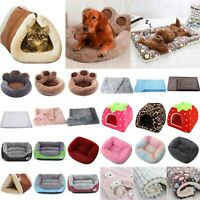 Pet Dogs Cats Indoor Warm Cushion Blanket Pad Nest Bed Mat House Kennel Mattress