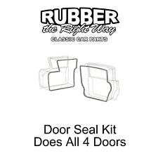 1957 1958 Ford Door Seal Kit Does All 4 Doors - 4 Door Sedan