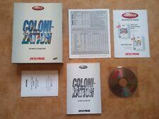 SID MEIER'S COLONIZATION   PC DOS  CD Edition   deutsch  USK 6 #