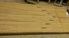 Reclaimed Maple & Pine Bowling Alley Lane Wood Slabs (10ft x 42in x 2.5in)