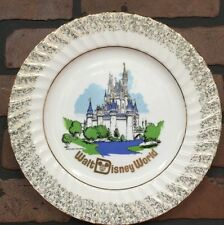Japan Vintage Walt Disney Productions Disney World Collector Plate Stock 810