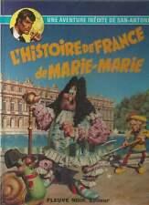 SAN ANTONIO EN BD N°6 . L'HISTOIRE DE FRANCE DE MARIE-MARIE . FLEUVE NOIR . 1974