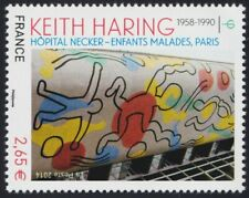 2014 FRANCE N°4901** TABLEAU Keith Haring Necker Paris FRANCE 2014 Painting MNH