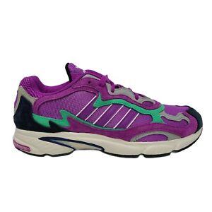 Adidas Temper Run Shock Purple Black White Running Men's Shoes Size 10.5
