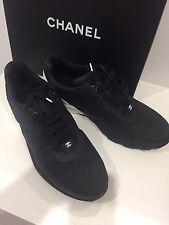 Chanel Sneaker Sneakers Schuhe Schwarz/Weiss Gr. 44 Black white 2.55 Bag