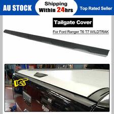 Tailgate Cap Cover Trim for Ford Ranger T6 WILDTRAK PX2 MK1 MK2 2012-ON Black