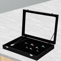 Schmuckkasten Ringdisplay Ringlade Ringe Ringbox Aufbewahrungsbox für 100 Ringes