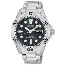 Runde Seiko Armbanduhren für Herren