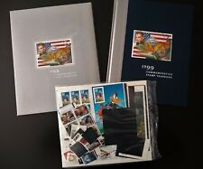 1999 USPS Commemorative Stamp Year Set Collection SEALED With Year Book