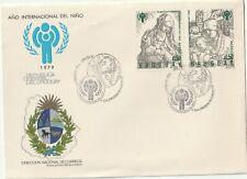 1979 Uruguay FDC cover Internationald Child Year