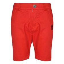 Pantalones cortos de niño de 2 a 16 años rojo