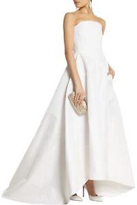 ROCHAS Ivory Woven Silk Gazar Gown Dress Wedding Bridal **£3500.00**