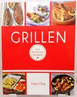 GRILLEN Tolles Kochbuch Die 80 besten Rezepte Fleisch Fisch Gemüse und Co. (32)