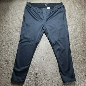 Pearl Izumi Cycling Pants Mens Fleece Lined Black Size 38