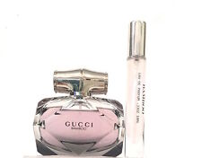 GUCCI BAMBOO EAU DE PARFUM .33OZ, 10ML  DELUXE TRAVEL ATOMIZER SPRAY + SAMPLE