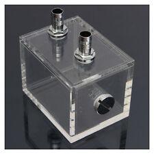200 ml Acryl Wassertank Kuehler Wasserkuehlung Kuehler PC CPU Wasserblock Tra DE