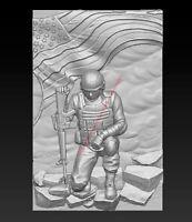 3D Model for CNC Router STL File Artcam Aspire Vcarve Wood Carving IS928