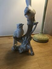 Lladro Style Birds Figurine Statue Ornament