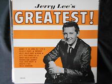 "JERRY LEE LEWIS  LP  SUN  "" JERRY LEE'S GREATEST ! ""   [UK]"