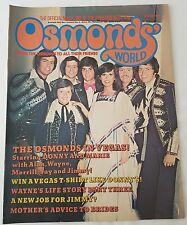 OSMONDS' WORLD MAGAZINE - No36 October 1976