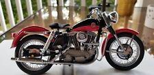1/10 Franklin Mint Harley Davidson 1957 Sportster Red/Black B11TQ07