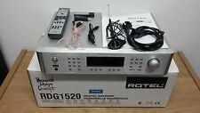 Rotel RDG-1520 Silver Digital Gateway, Internet/DAB/FM Tuner, Streamer, Ipod Doc