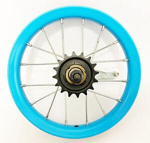 12 in. Rear Coaster brake wheel w/ 16T Sprocket & 16 14 ga spokes - NOS