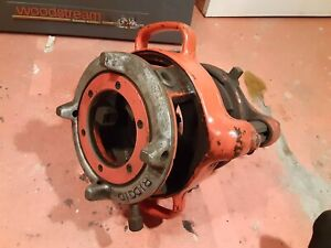 "Ridgid 141 jam proof 2 1/2"" to 4"" pipe threader ""hogs head"" threading attachment"