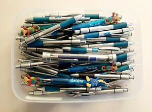 Box Of 2004 Athens Olympic Pens (untested) and Holder