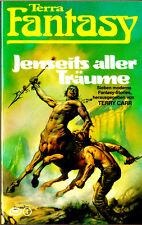 """Terry Carr - """" Jenseits aller TRÄUME - sieben Fantasy-Stories """" (1980) - tb"""