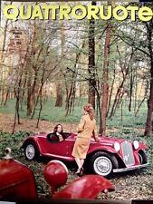 Quattroruote 113 1965 test Mercedes 190D - Numero Speciale su SPIDER [SC.32]
