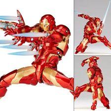 Amazing Yamaguchi Revoltech 013 Iron Man Bleeding Edge Armor figure Kaiyodo
