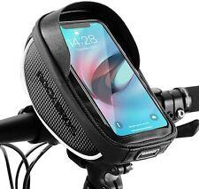 ROCKBROS Handyhalterung Fahrrad Halterung Handy Halter Lenkertasche Wasserdicht