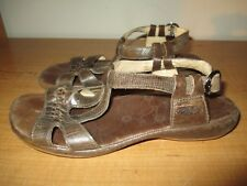 Keen Women's Size 7 Brown Leather Strap Buckle Sandals - Very Nice - Fast Ship