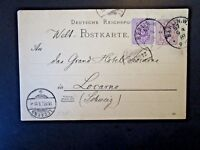 Germany 1889 Uprated Postal Card - Z4859