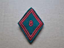 ecusson patch insigne militaire broderie losange de bras train avec attaches
