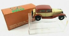 Vintage RIO #19 Diecast Car Toy 1932 Alfa Romeo 6c-1750 w/Box Car Near Mint