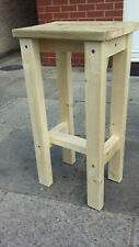 Outdoor Bar Stools PAIR 28 MM Premium timber Tops Collection only